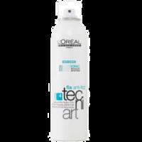 LOreal Tecni Art Anti Frizz Spray mocno utrwalający do stylizacji chroniący włosy przed puszeniem się pod wpływem wilgoci 250ml
