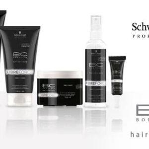 Schwarzkopf BC Fibre Force Shampoo silnie regenerujący szampon z keratyną 200ml