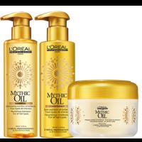 LOreal Mythic Oil Szampon odżywczo-oczyszczający do każdego rodzaju włosów 250ml
