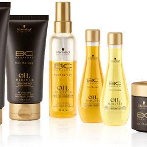 Schwarzkopf BC Oil Miracle Gold Shimmer Treatment maska do włosów z olejkiem arganowym 150ml
