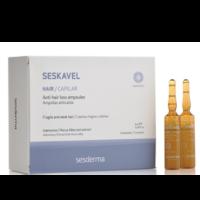 Sesderma Seskavel Anti Hair Loss Ampułki przeciw wypadaniu włosów 12x8ml