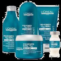 LOreal Pro Keratin Refill Szampon keratynowy odbudowujący strukturę włosów 250ml