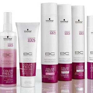 Schwarzkopf BC Color Freeze Spray Conditioner dwufazowa odżywka w sprayu do włosów farbowanych 200ml