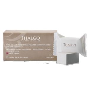 Thalgo Precious Milk Bath Musujące cukrowe pastylki odprężające 6szt. - denique.com.pl